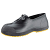 Servus SF Slip-On Overboots, Size Large, 4 In H, PVC, Black SRV 617-11003-BLM-LRG