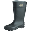 Servus CT™ Economy Knee Boots, Steel Toe, Size 10, 16 In H, PVC, Black SRV 617-18821-BLM-100