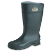 Servus CT™ Economy Knee Boots, Steel Toe, Size 7, 16 In H, PVC, Black SRV 617-18821-BLM-070