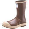 Servus Neoprene Steel Toe Boots, Size 9, 12 In H, Copper/Tan SRV 617-22114-CTM-090