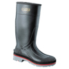 Foot Protection: Servus - XTP Knee Boots, Size 9, PVC, Black/Red/Gray