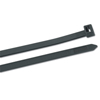Gardner Bender Heavy-Duty Cable Ties W/Doublelock, 175 Lb Tensile Strength, 18, UV Black, 50/Bag GAB 623-46-418UVB