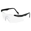 Smith & Wesson Magnum 3G Safety Eyewear, Clear Polycarb Anti-Scratch Lenses, Black Nylon Frame SMW 138-19799
