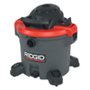 Vacuums: Ridgid - Red Wet/Dry Vac Model 1200Rv, 12 Gal, 5 HP