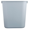 waste container: Rubbermaid Commercial - Deskside Wastebaskets, 41 1/4 Qt, Plastic, Black