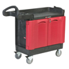 Rubbermaid Commercial TradeMaster® Mobile Cabinets and Work Centers RBC 640-4512-88-BLA