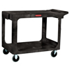 Ring Panel Link Filters Economy: Rubbermaid Commercial - Heavy-Duty Flat Shelf Utility Carts, 500 Lb, 44 X 25 1/4 X 38 1/8H, Black