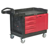Rubbermaid Commercial TradeMaster® Mobile Cabinets and Work Centers RBC 640-4533-88-BLA