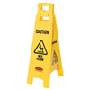Rubbermaid Commercial Floor Safety Signs RCP 640-6114-77-YEL