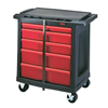 tool storage: Rubbermaid Commercial - Mobile Work Centers