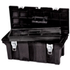 tool storage: Rubbermaid Commercial - Tool Boxes, 11 1/2 In W X D X 11 1/8 In H, Structural Foam, Black