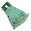 Rubbermaid Commercial Web Foot Shrinkless Wet Mops, Medium, Cotton/Synthetic, 5 In RCP 640-A252-06-GR