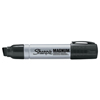 Marking Tools: Sanford - King Size Permanent Markers, Black, Chisel