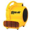 Shop-Vac Air Movers, 3.5 A, 120 V, 10 Ft Cord ORS 677-1030400