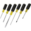 Stanley-Bostitch 6 Piece Vinyl Grip Screwdriver Sets BOS 66565