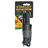 Tools: Stanley-Bostitch - Fatmax Safety Knives, 3.3 In, Retractable Steel Blade