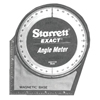 "protractor: L.S. Starrett - AM-2 Angle Meter  5"" x 5"" Magnetic Base and Back"