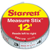 Measuring & Leveling Tools: L.S. Starrett - Measure Stix™ Steel Measuring Tape