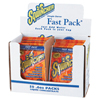 Sqwincher Fast Packs, Orange, 6 oz, Pack, 200 Per Case SQW 690-015304-OR