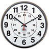 Ability One AbilityOne™ 12/24 Hour Wall Clock NSN 3428199