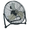 TPI Corp. Commercial Floor Fans, 18 In, 1/5 HP , Steel ORS 737-CF-18
