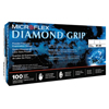 Ansell Diamond Grip Disposable Gloves, Latex, Finger-2 mm; Palm-16 mm, Small, Natural ANS 748-MF-300-S
