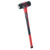 Union Tools Razor-Back Sledge Hammers, 10 Lb, 34 1/4 In Fiberglass Handle UNT 760-3115000