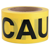 Traffic Safety Safety Tapes: Intertape Polymer Group - Barricade Tape, 3 In X 300 Ft, Yellow, Caution