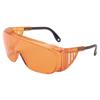 Honeywell Uvex™ Ultra-Spec 2000 Eyewear, Sct-Orange Lens Uvextreme Anti-Fog Coating, Black Frame FND 763-S0360X