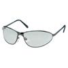 Honeywell Uvex™ Tomcat Eyewear, Silver-Mirror Polycarbon Anti-Scratch Hard Coat Lenses, Gunmetal FND 763-S2453