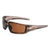 Honeywell Uvex™ Hypershock Safety Eyewear, Espresso Brn Polarized Poly Hardcoat Lens, Blk Frame FND 763-S2949