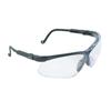 Honeywell Uvex™ Genesis Eyewear, Clear Polycarbonate Hard Coat Lenses, Black Frame FND 763-S3200