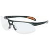 Honeywell Uvex™ Protege Eyewear, Clear Polycarbonate Anti-Fog Lenses, Black Nylon Frame FND 763-S4200HS