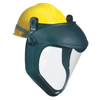 Honeywell Uvex™ Bionic Face Shield With Hard Hat Adapter, Clear/Black FND 763-S8505