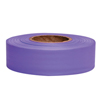 Traffic Safety Safety Tapes: Presco - Taffeta Flagging Tape, 1 3/16 In X 300 Ft, Purple