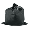 Warp Brothers Trash Can Liners, 33 Gal, 1.5 Mil, 33 X 40, Black ORS 795-FB33-100