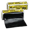 Warp Brothers Trash Can Liners, 55 Gal, 3 Mil, 36 X 56, Black ORS 795-HB55-30