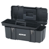 tool storage: Waterloo - Plastic Tool Boxes, 20 In W X 10 1/4 In D X 9 In H, Polypropylene, Black