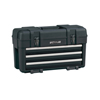 tool storage: Waterloo - Plastic Portable Chests, 23 In W X 10 1/2 In D X 13 1/2 In H, Black