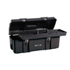 tool storage: Waterloo - Plastic Portable Chests, 26 In W X 10 In D X 9 3/4 In H, Plastic, Black