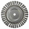 Abrasives: Weiler - Dualife® Cable Twist Knot Wire Wheels