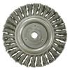 Weiler Roughneck&Reg; Stringer Bead Wheel, 6 In D X 5/16 W, .023 In Steel Wire, 12,500 RPM WEI 804-09386