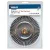 Weiler Roughneck&Reg; Stringer Bead Wheel, 6 In D, .02 Wire, Retail Pack WEI 804-09400P