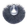 Abrasives: Weiler - Stem-Mounted Circular Flared End Brushes