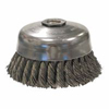 Abrasives: Weiler - General-Duty Knot Wire Cup Brushes