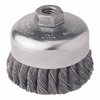 Weiler General-Duty Knot Wire Cup Brushes WEI 804-12326