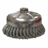 Weiler General-Duty Knot Wire Cup Brushes WEI 804-12356