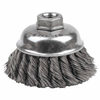 Weiler General-Duty Knot Wire Cup Brushes WEI 804-12736