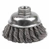 Weiler General-Duty Knot Wire Cup Brushes WEI 804-12746