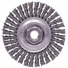 Abrasives: Weiler - Dualife® Stringer Bead Twist Knot Wire Wheels